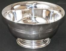 Vintage Tiffany  Co Sterling Silver Footed Bowl