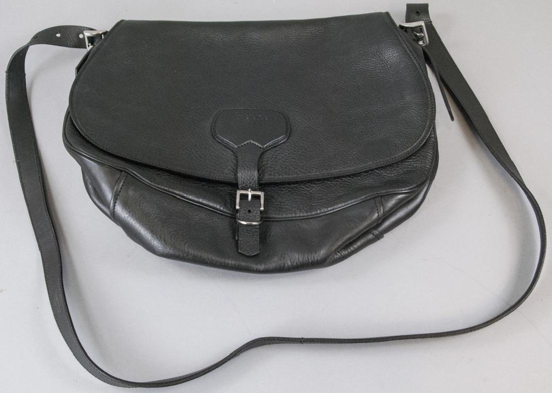 Prada Black Leather Purse / Hand Bag