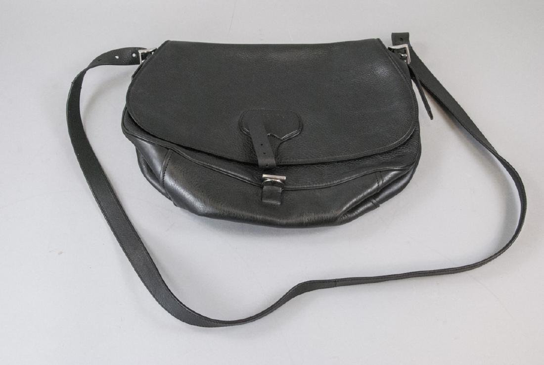 Prada Black Leather Purse / Hand Bag - 2