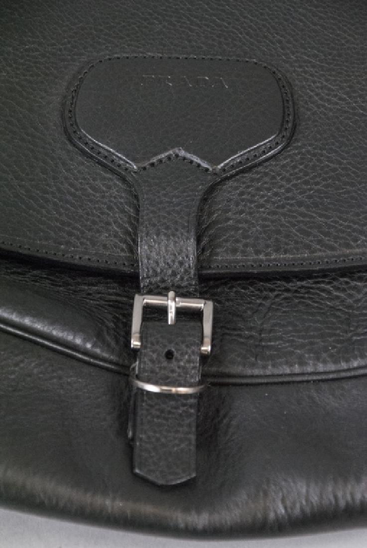 Prada Black Leather Purse / Hand Bag - 3