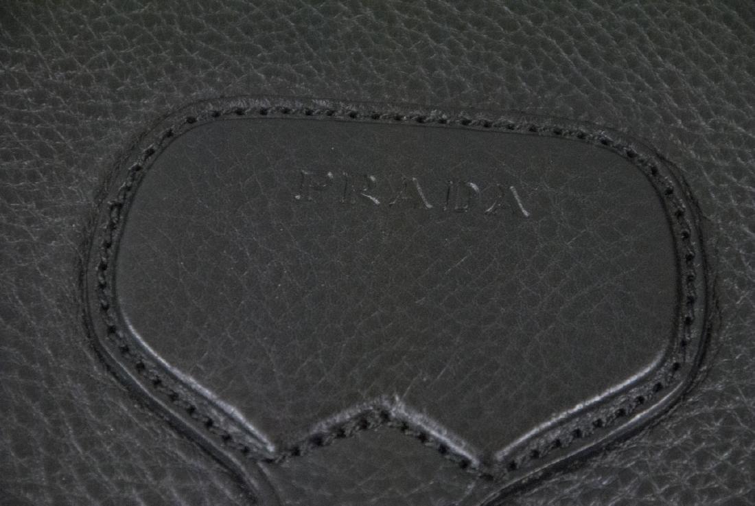 Prada Black Leather Purse / Hand Bag - 4