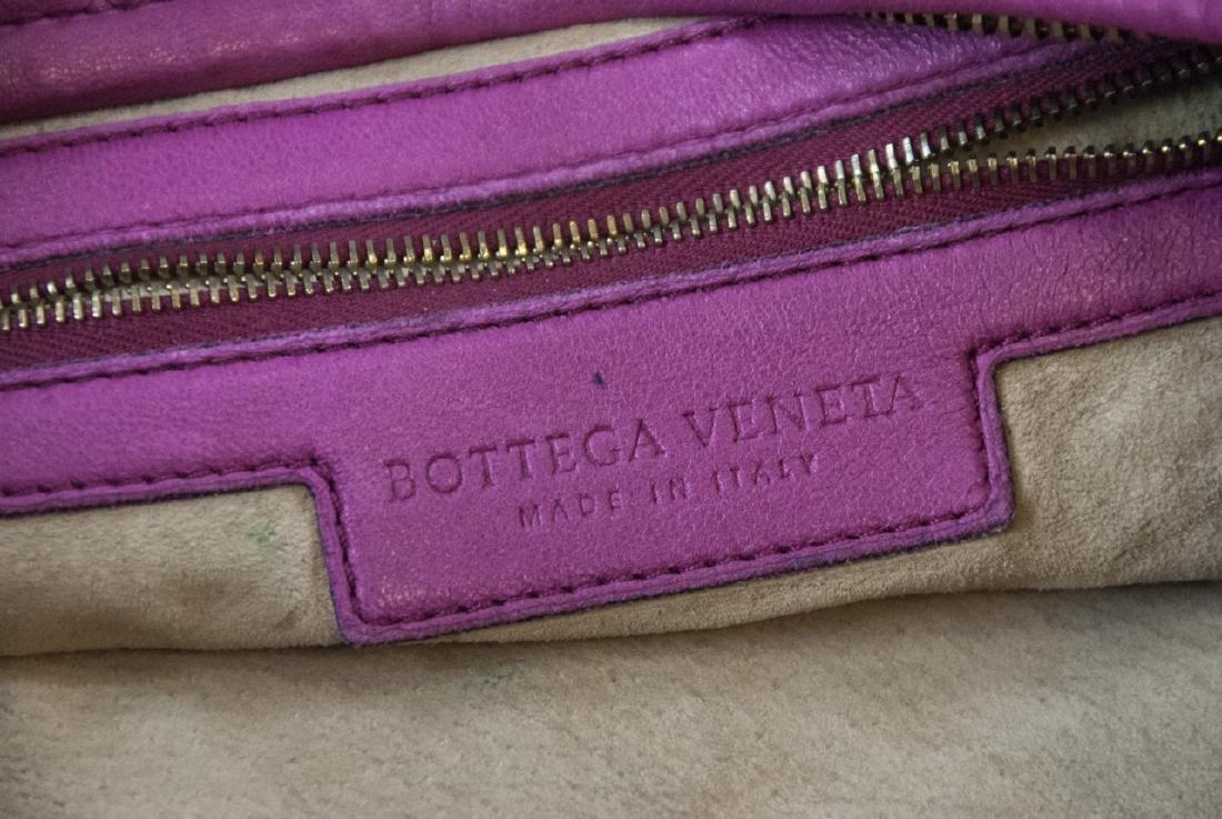 Botega Veneta Pink Woven Leather Purse - 6