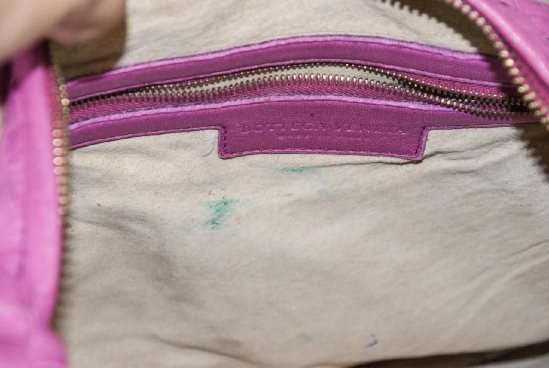 Botega Veneta Pink Woven Leather Purse - 7