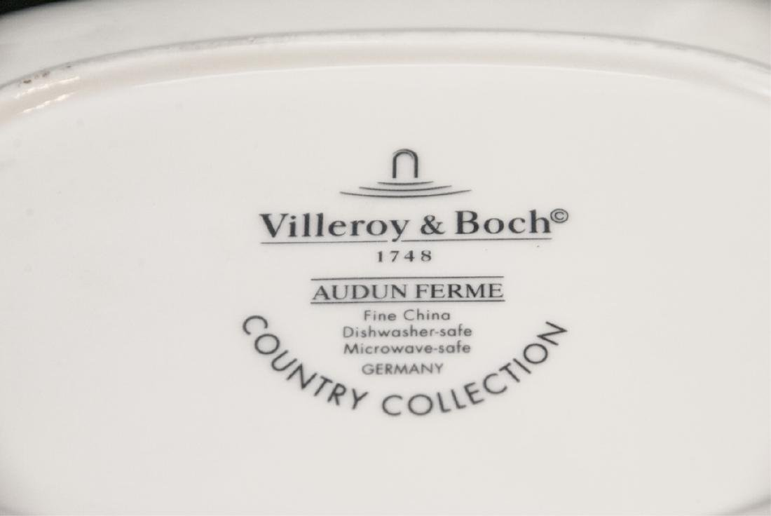 Villeroy & Boch  Audun Chasse 10 Serving Pieces - 8