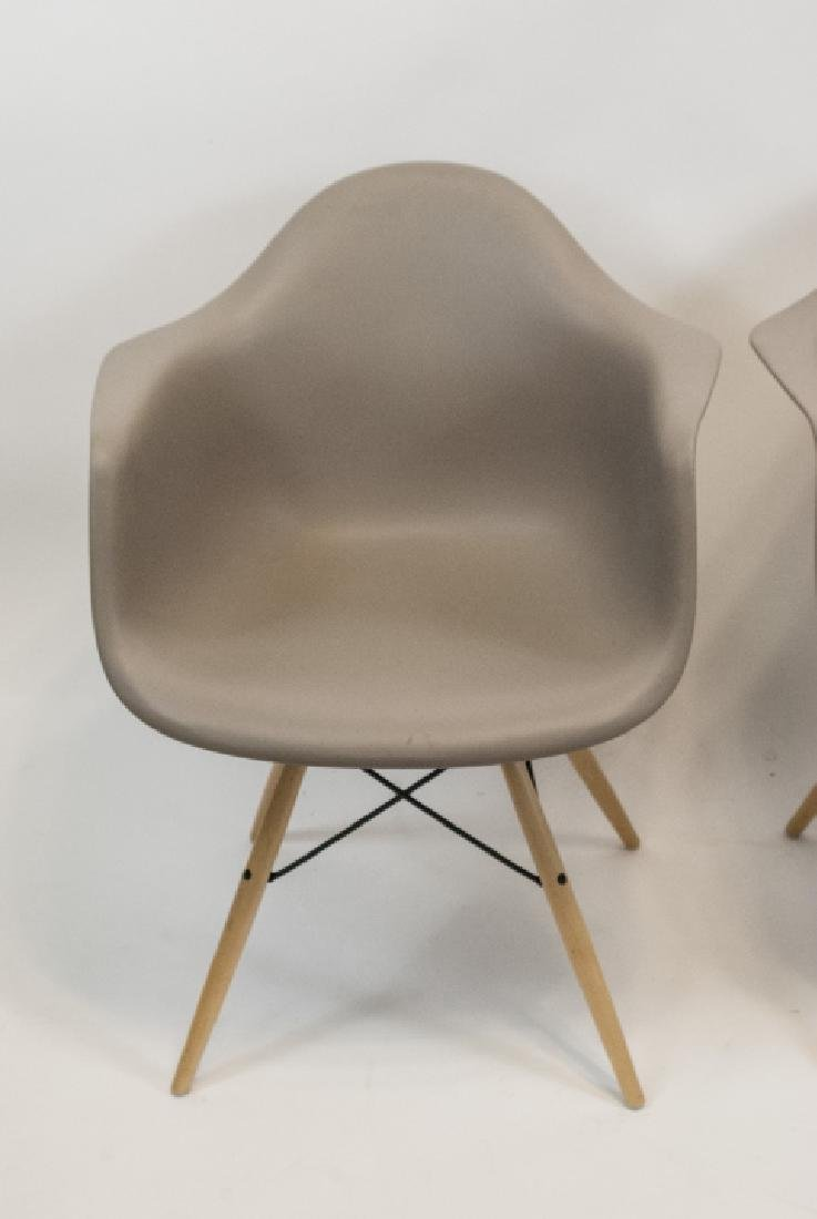 Two Contemporary Herman Miller Eames Bucket Chairs - 2