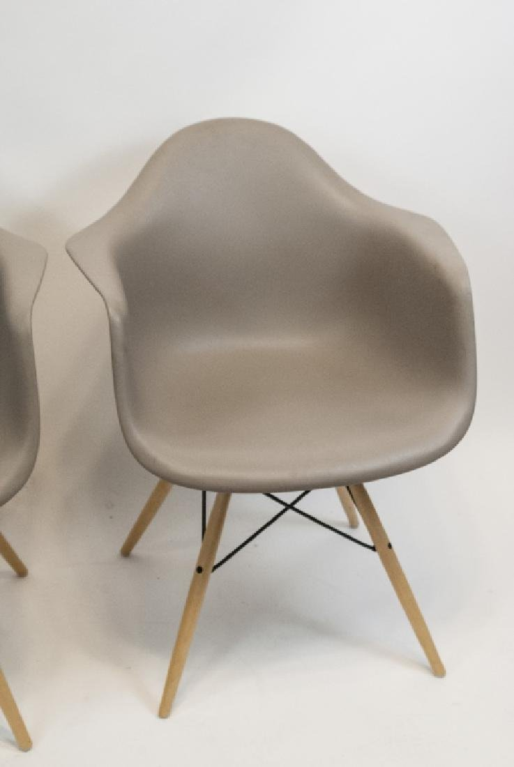 Two Contemporary Herman Miller Eames Bucket Chairs - 3