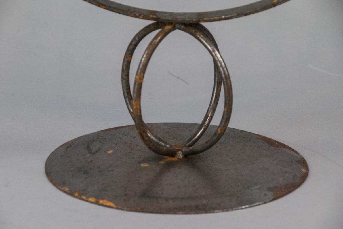 Vintage Cast Metal Armillary Sphere - 3