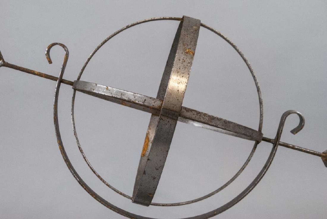 Vintage Cast Metal Armillary Sphere - 6