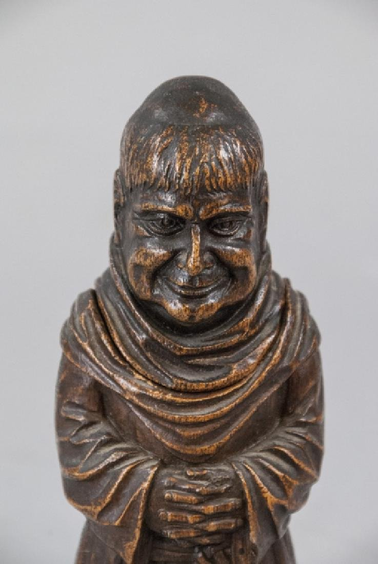 Antique Figural Monk Bar Ware Corkscrew Statue - 3