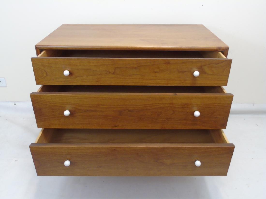 Mid Century Modern Mahogany 3 Drawer Dresser - 3