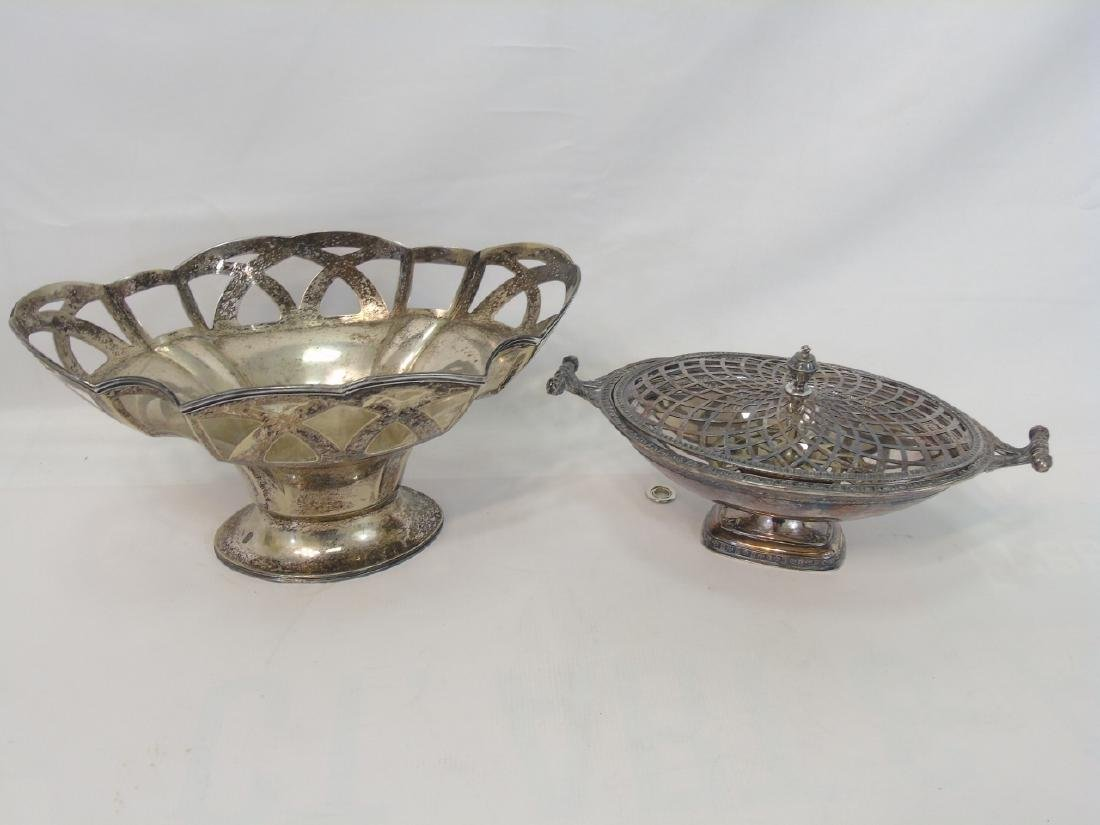 Large Lot of Antique & Vintage Silver Plate Items - 2