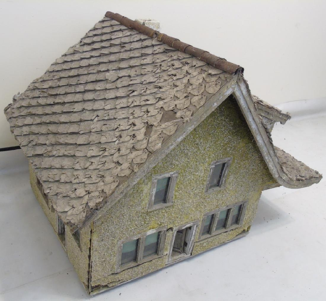 Antique c 1900 Doll House Cottage Hand Made
