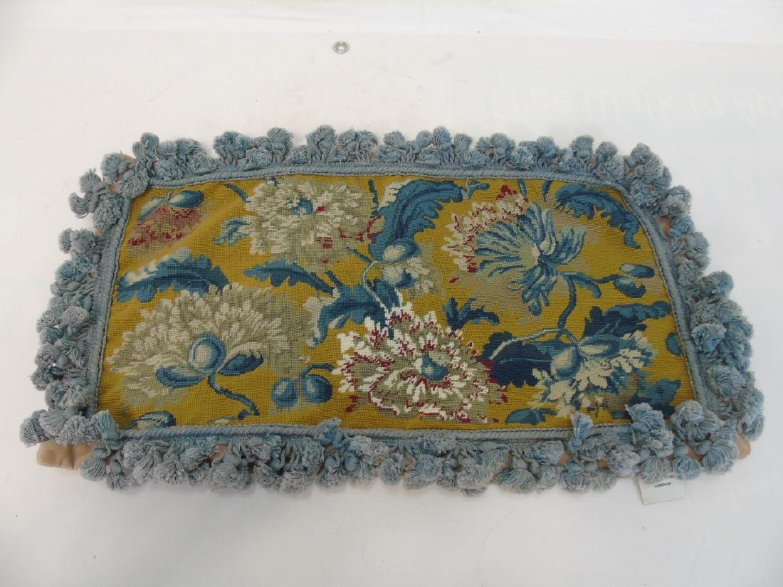 Pair of Needlepoint Pillows & Pair of Covers - 2