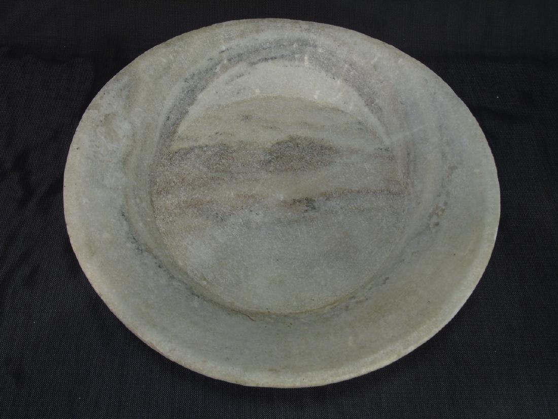 3 Lillian August Flat Marble Bowls - 2