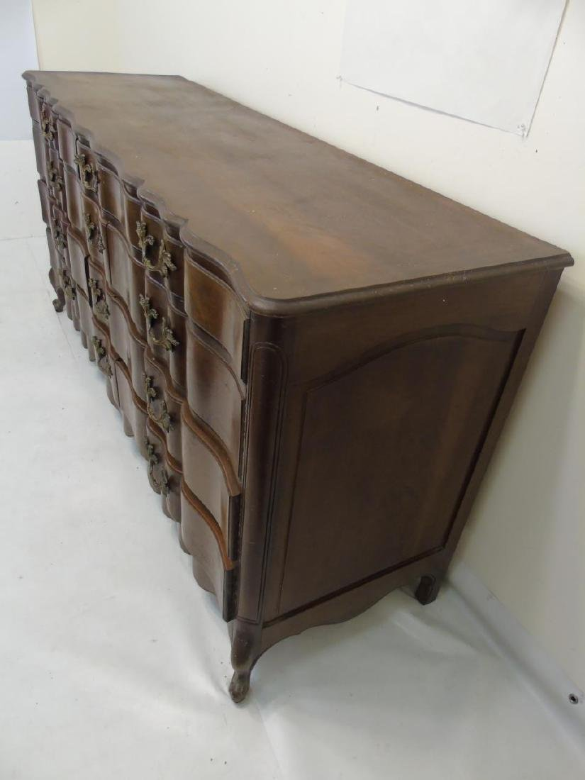 Very Large Rustic Condition Dresser 12 Drawers - 3