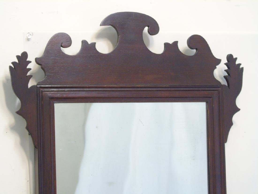 Two Antique Mirrors - Chippendale & Neo Classical - 2