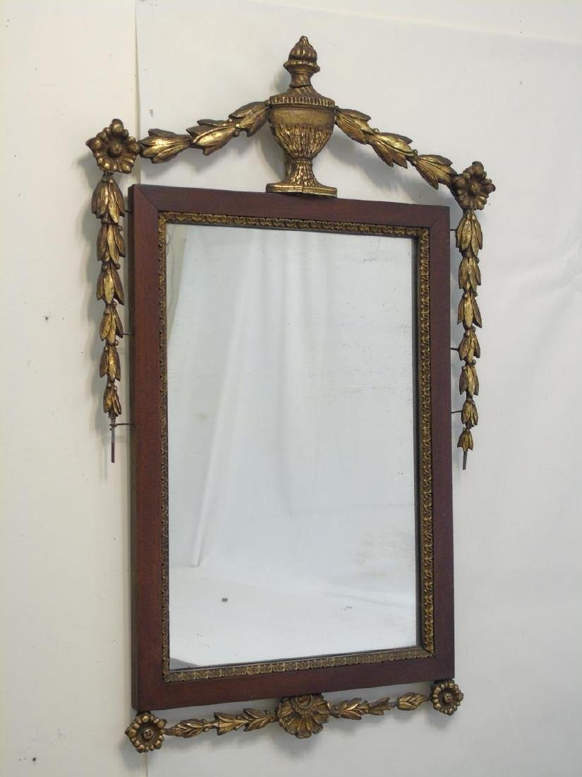 Two Antique Mirrors - Chippendale & Neo Classical - 3