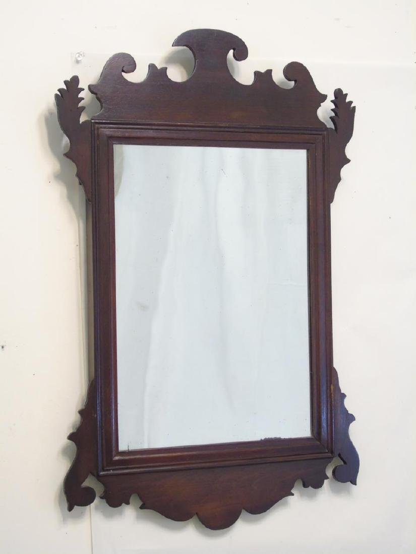 Two Antique Mirrors - Chippendale & Neo Classical - 4