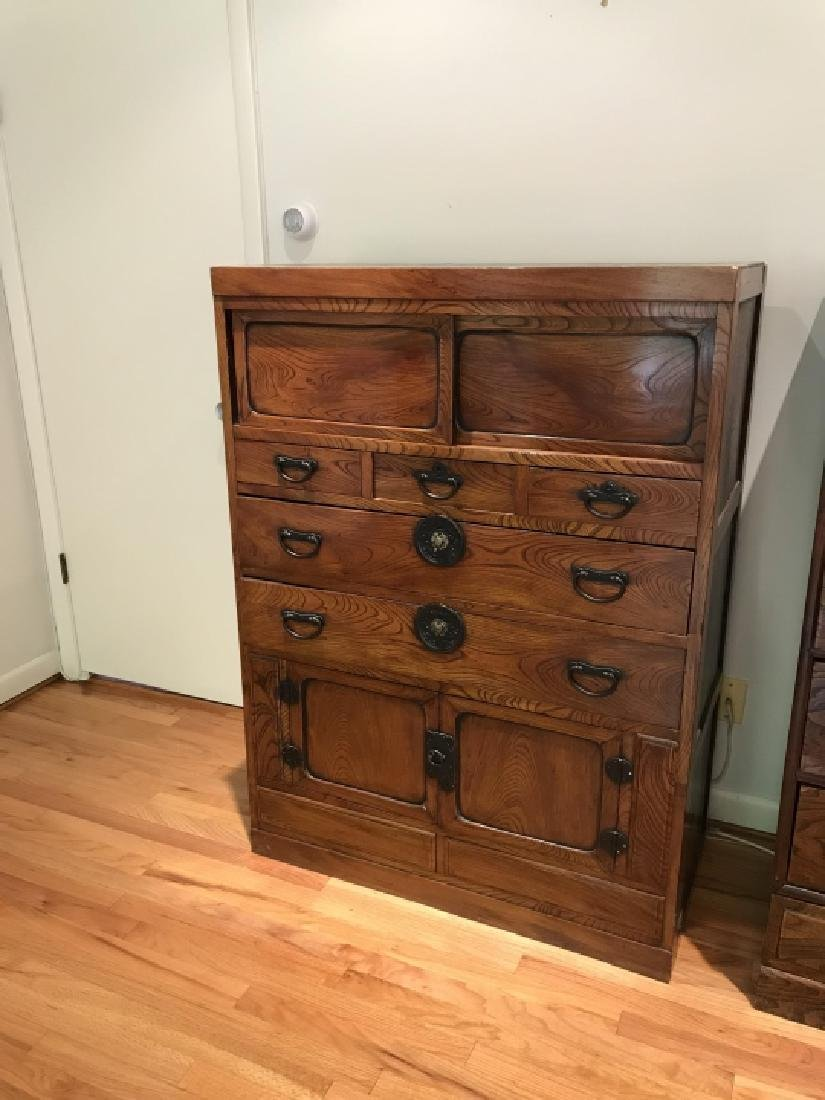 Mid C Korean Walnut Veneer Dresser - 3