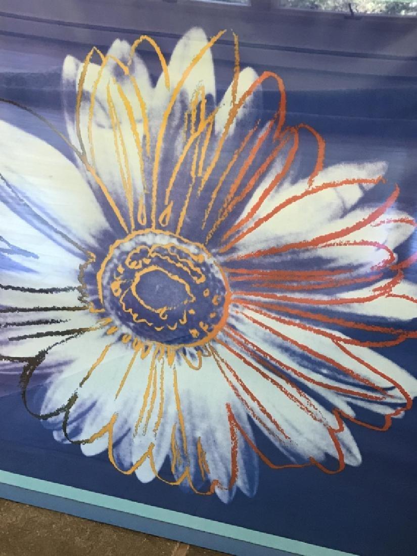Contemporary Daisy Pop Art Print Framed - 5