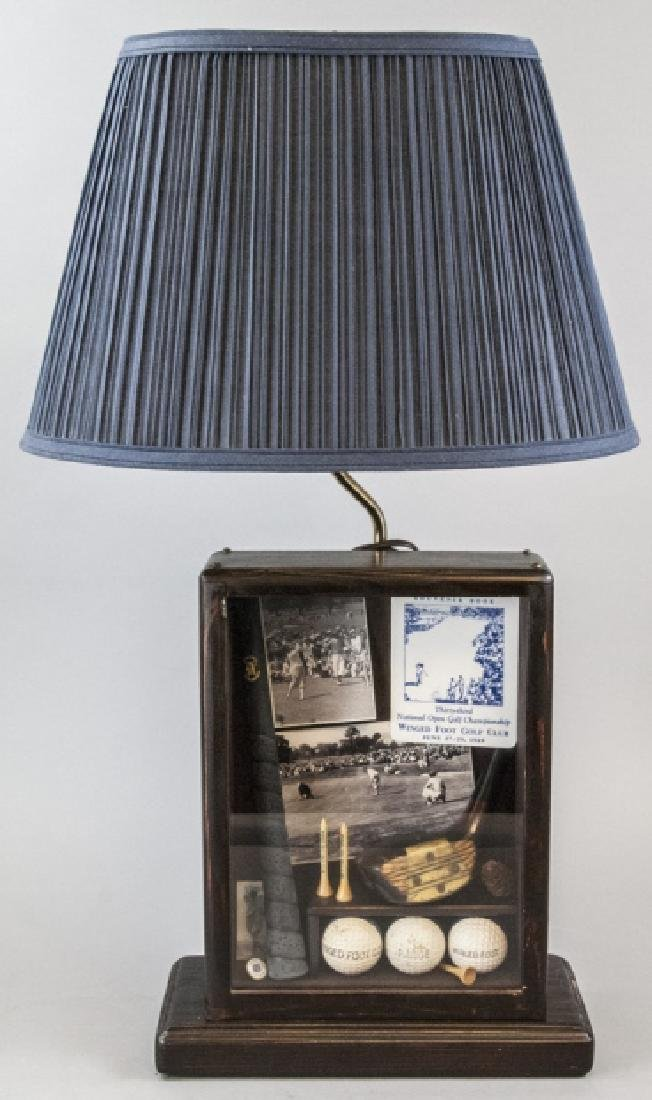 Winged Foot Golf Course Commemorative Lamp