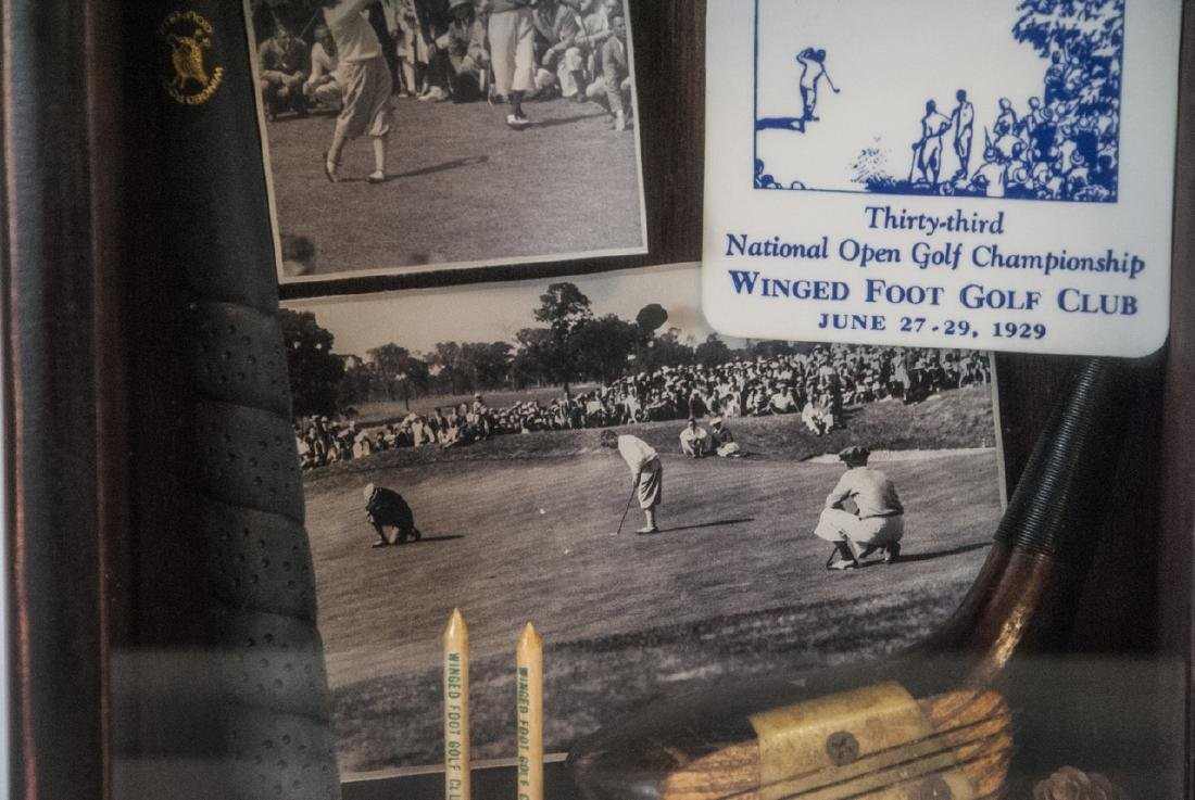 Winged Foot Golf Course Commemorative Lamp - 4