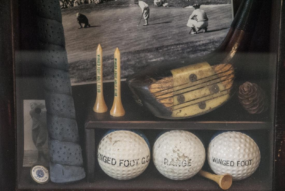 Winged Foot Golf Course Commemorative Lamp - 5