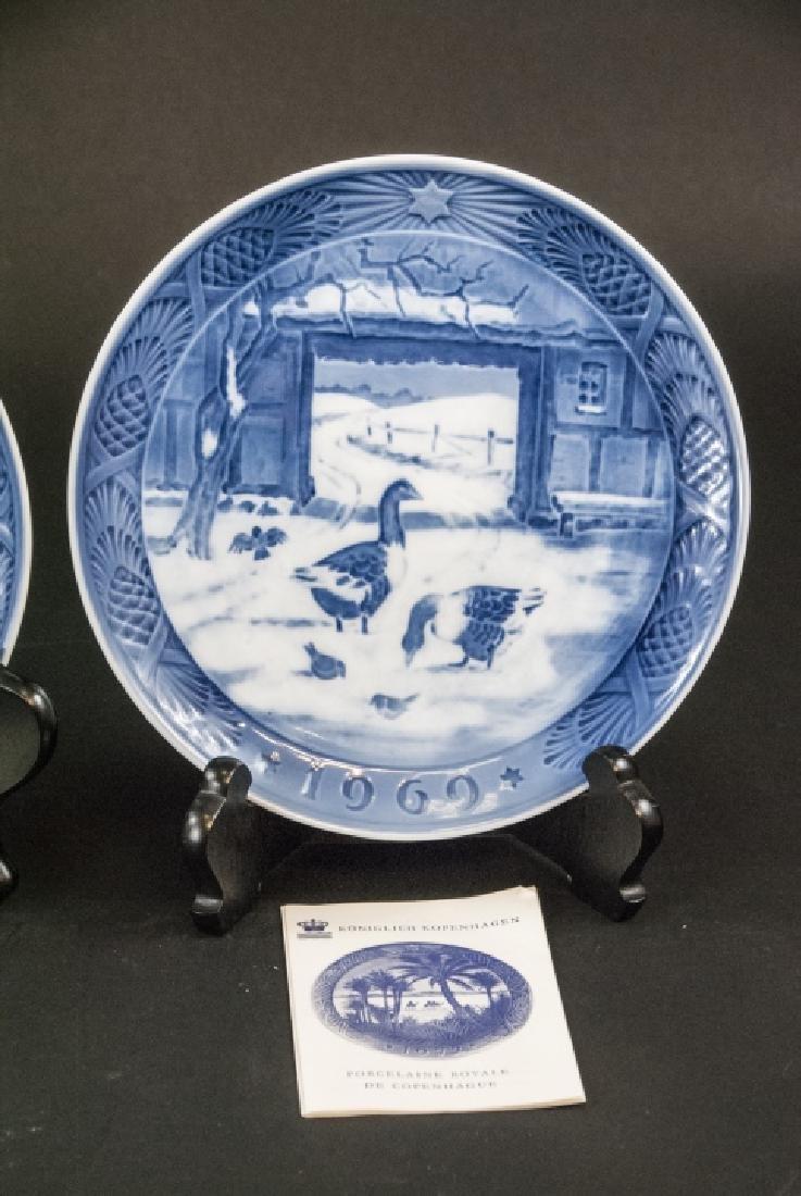 Kongeligt Porcelain Collectible Plates 69,70,71 - 4
