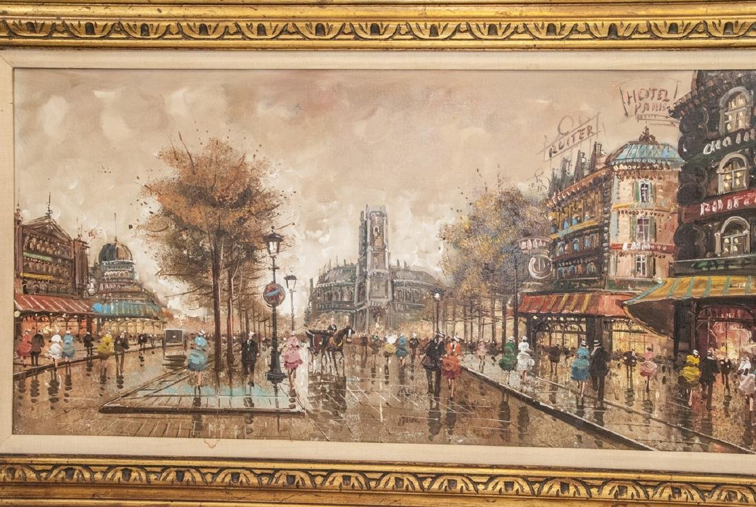 Original Oil Painting of Paris Cityscape - 3