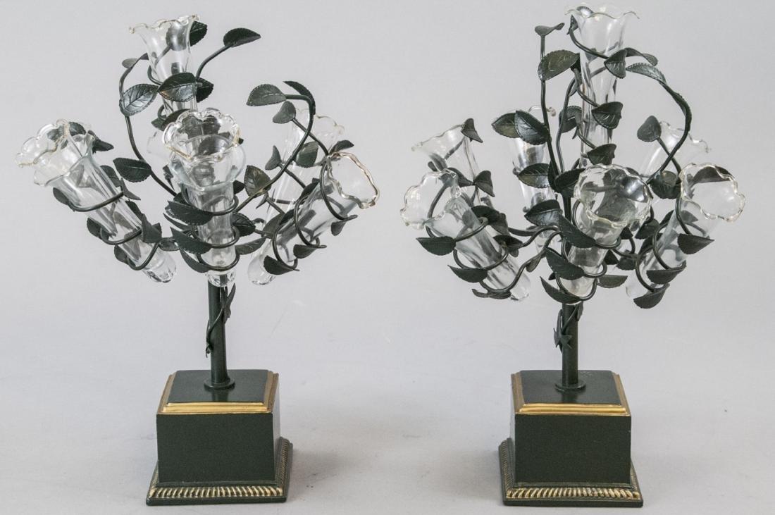 Pair of Vintage Petites Choses  Bud Vases