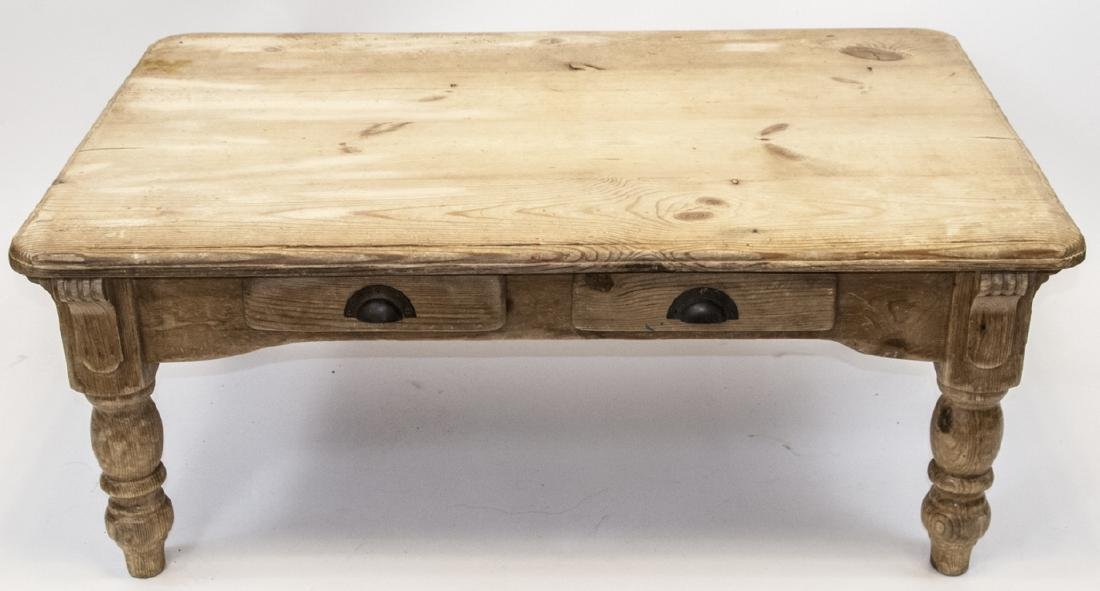 Lillian August French Country Pine Coffee Table