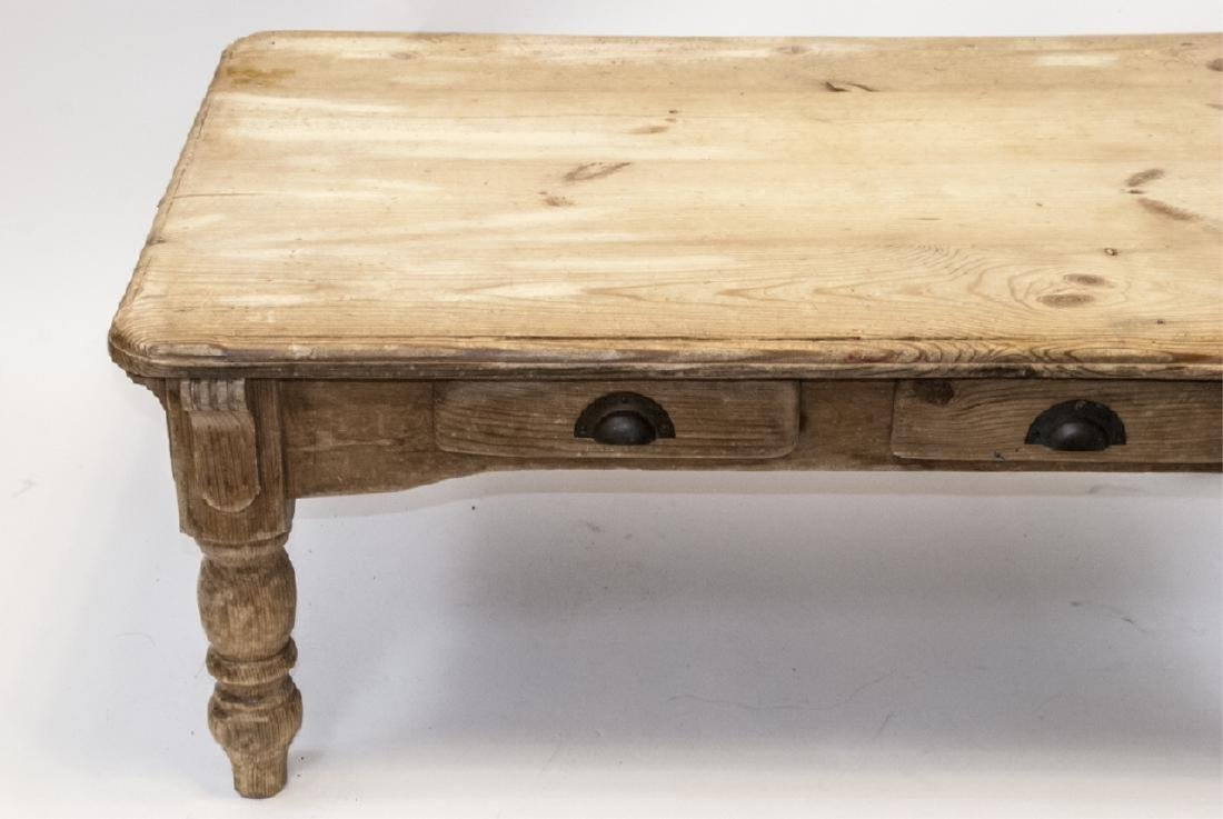 Lillian August French Country Pine Coffee Table - 2