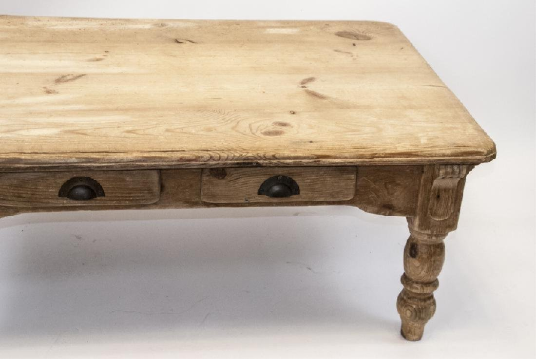 Lillian August French Country Pine Coffee Table - 3