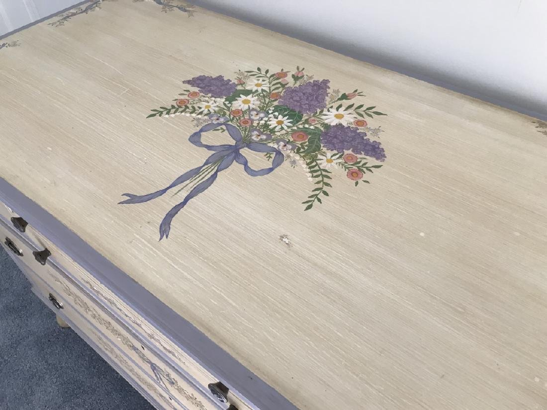 Hand Painted Early 20th C Chest of Drawers - 3