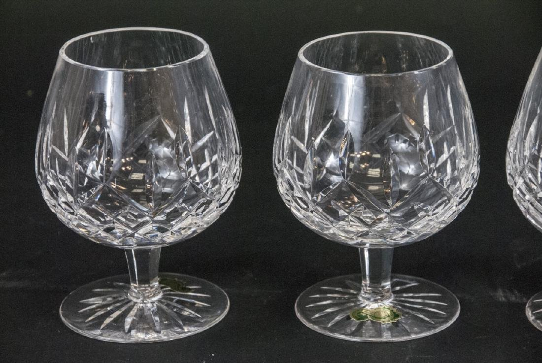Four Waterford Cut Crystal Brandy Snifters - 2