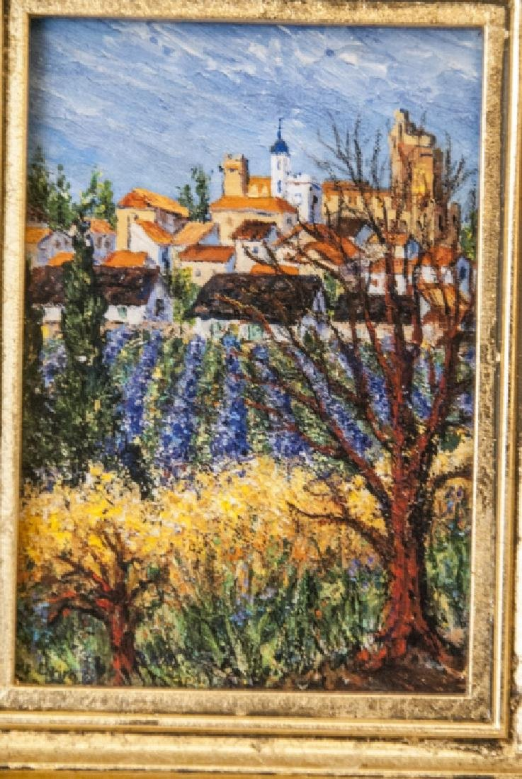 3 Miniature Giclees French Lavender Fields - 3