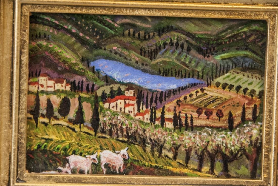 3 Miniature Giclees French Lavender Fields - 4