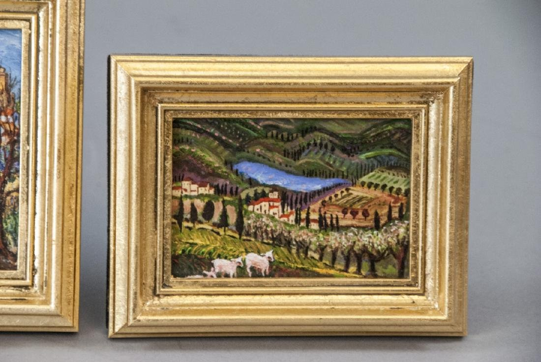 3 Miniature Giclees French Lavender Fields - 7