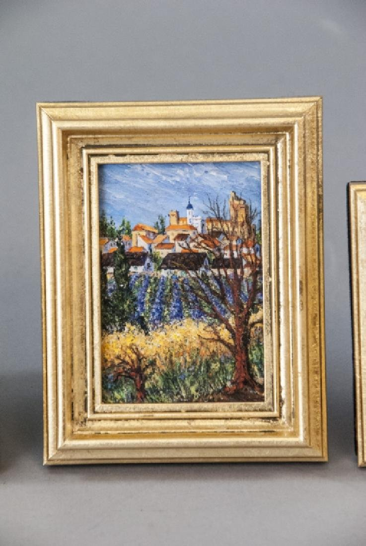 3 Miniature Giclees French Lavender Fields - 8
