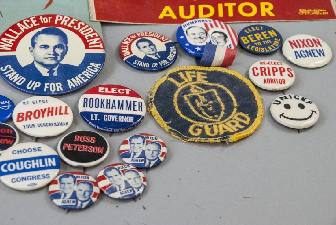 Mid Century Political Campaign Memorabilia - 2