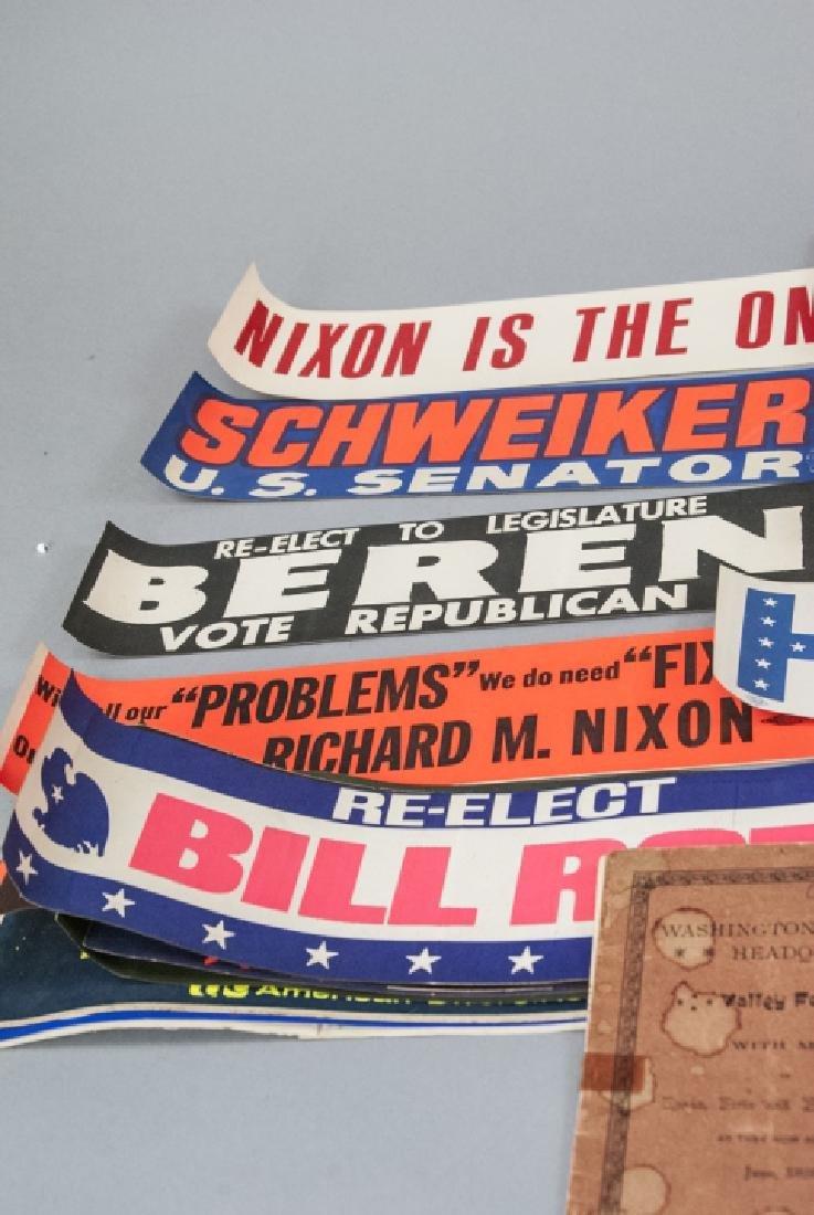 Mid Century Political Campaign Memorabilia - 3