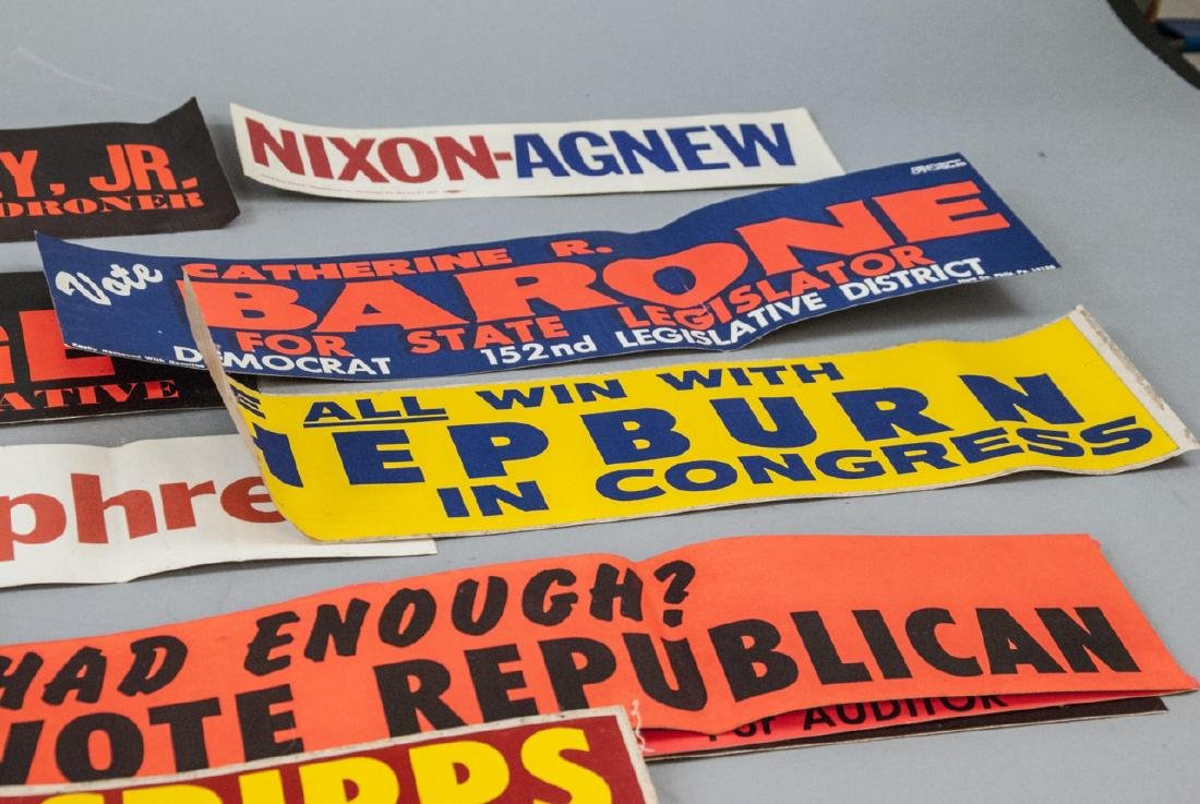 Mid Century Political Campaign Memorabilia - 5