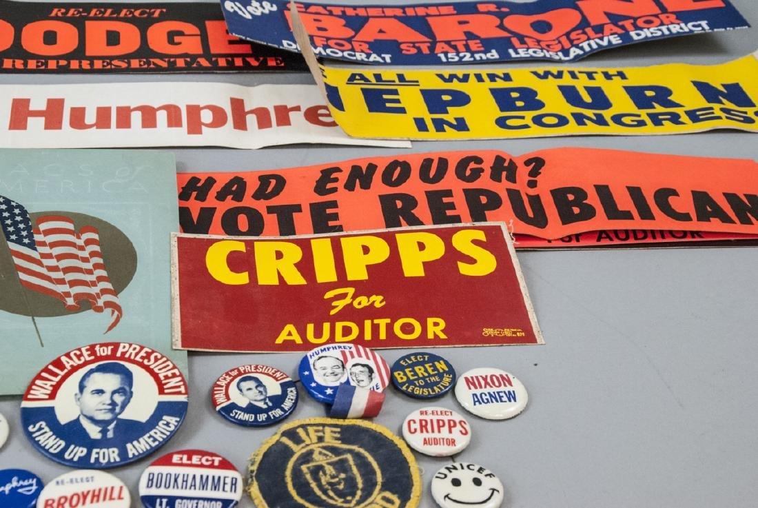 Mid Century Political Campaign Memorabilia - 6