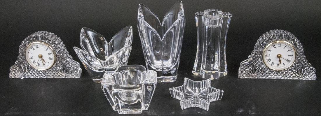 Lot of Crystal Objects Incl. Waterford & Orrefors