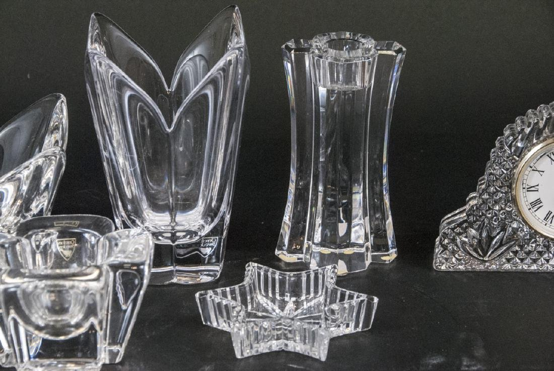 Lot of Crystal Objects Incl. Waterford & Orrefors - 2