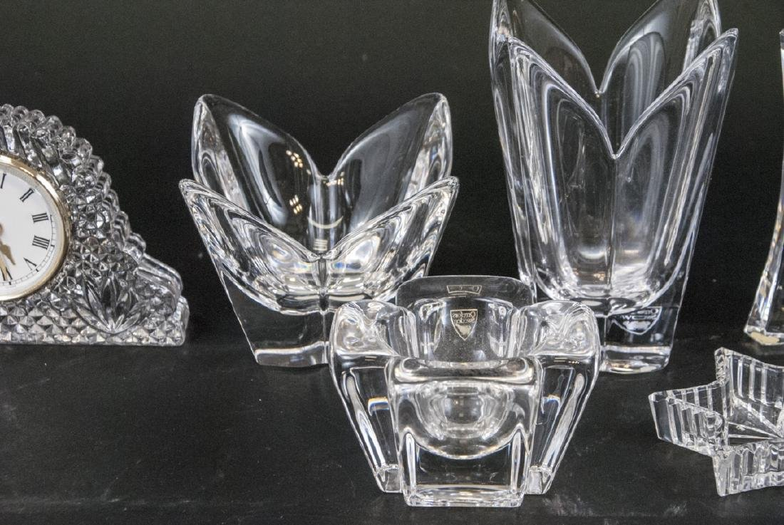 Lot of Crystal Objects Incl. Waterford & Orrefors - 5