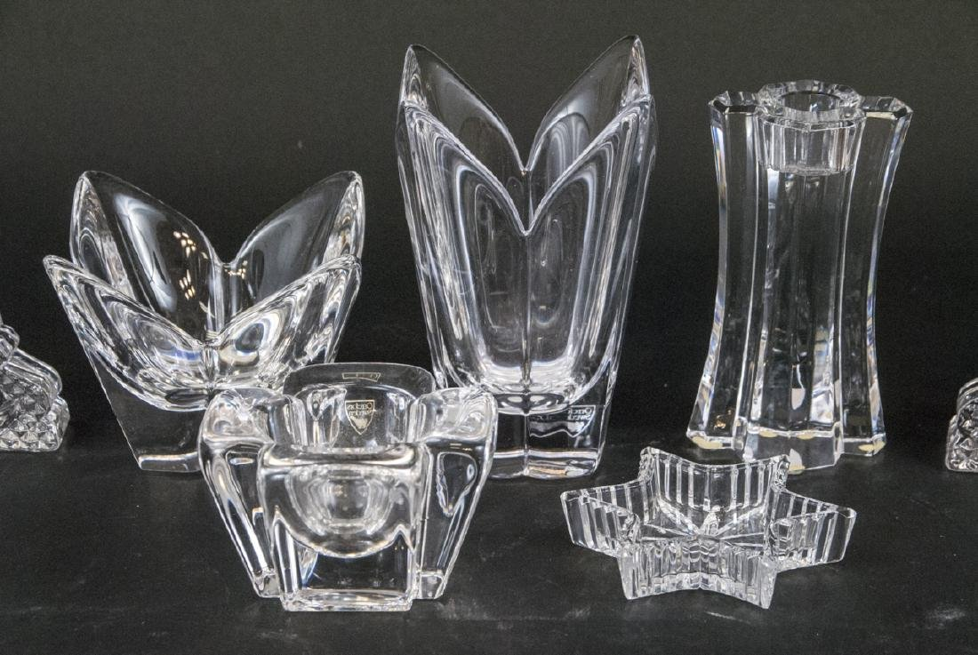 Lot of Crystal Objects Incl. Waterford & Orrefors - 6