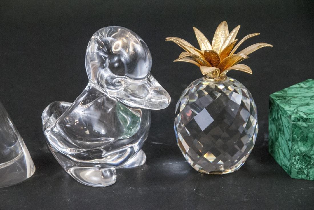 Lot of Crystal Decorative Objects Incl. Swarovski - 3