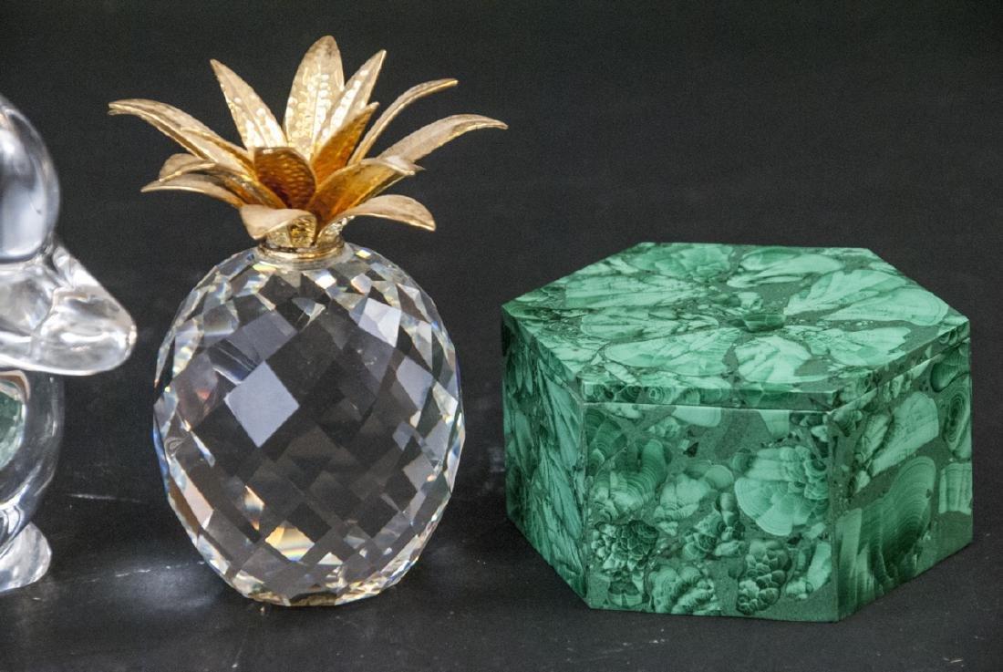 Lot of Crystal Decorative Objects Incl. Swarovski - 4