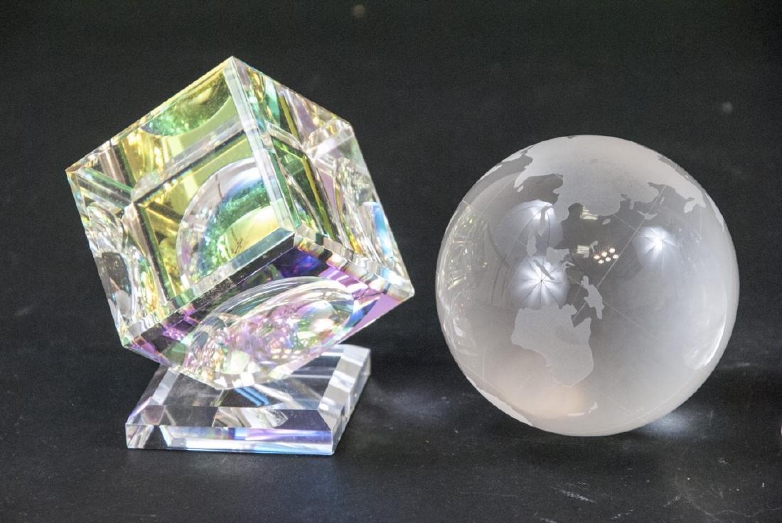 Lot of Crystal Decorative Objects Incl. Swarovski - 6